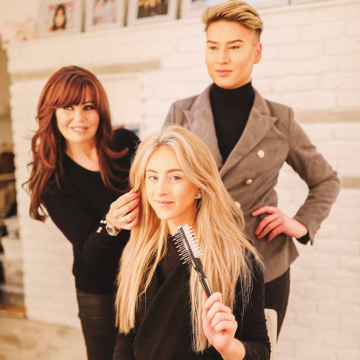 The Manchester hairdressers going global with their invention creating amazing bouffant hair I Love Manchester