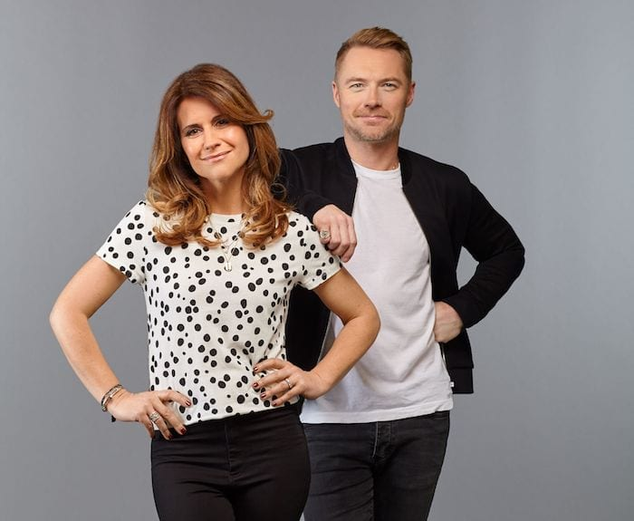 See Ronan Keating in Manchester this weekend before the Boyzone gig - at Magic Radio roadshow in town I Love Manchester