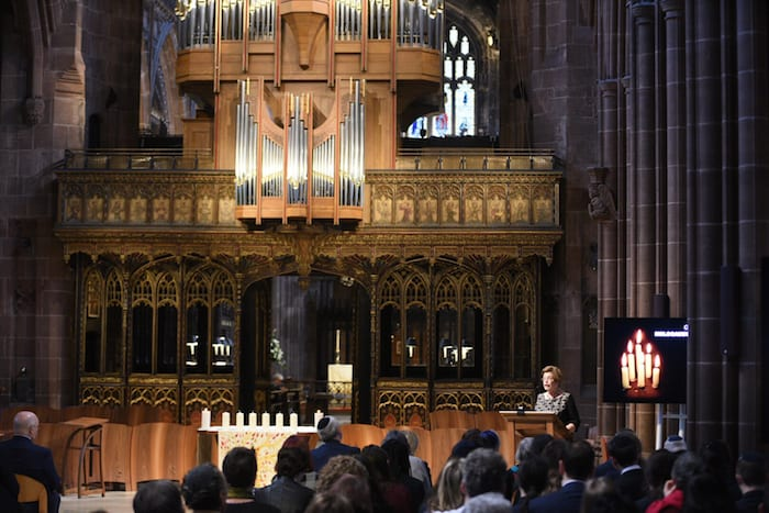 Greater Manchester holds first city-region wide Holocaust Memorial Day commemoration I Love Manchester