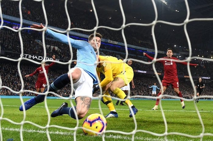 Defending champions Manchester City send rivals Liverpool a title challenge I Love Manchester