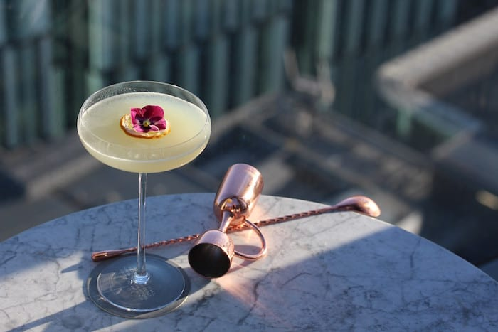 Manchester's highest restaurant is celebrating Ginuary with a tasting of its favourite Manchester gins I Love Manchester