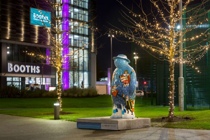 Snowman sculptures by acclaimed artists go up for sale in online charity auction I Love Manchester