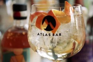 atlas bar gin and tonic