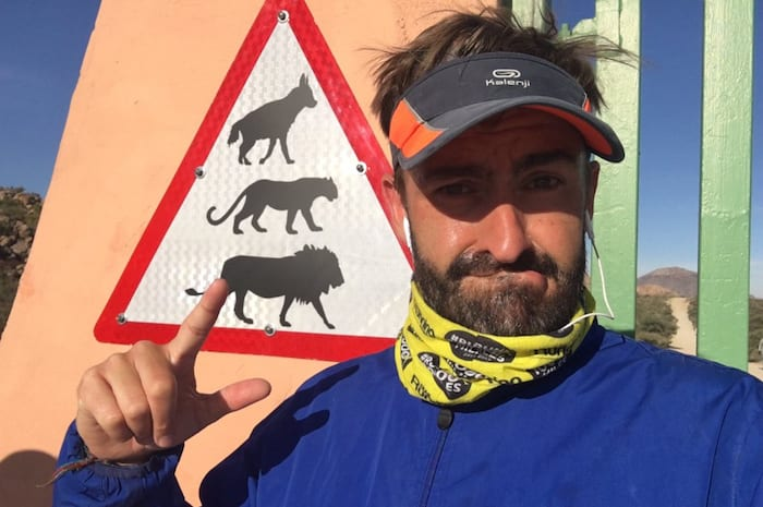 How a drunken bet led Salford man to run Africa coast to coast for charity I Love Manchester
