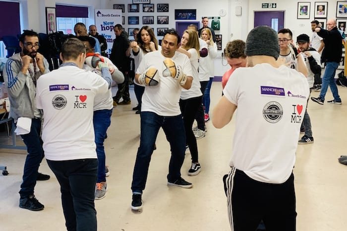 Fighting homelessness through boxing: former world champion Johnny Nelson supports free classes for Manchester homeless I Love Manchester