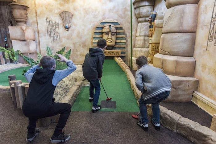 UK's first augmented reality golf experience launches at Paradise Island Manchester I Love Manchester