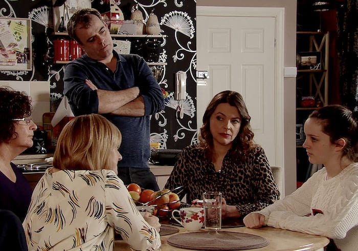 Corrie spoilers: love drama for Mary and Tyrone and will Amy tell the police the truth? I Love Manchester