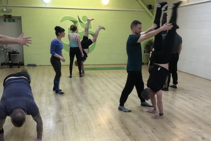 Chorlton has a handstand club - and they say being upside down has benefits for your health I Love Manchester