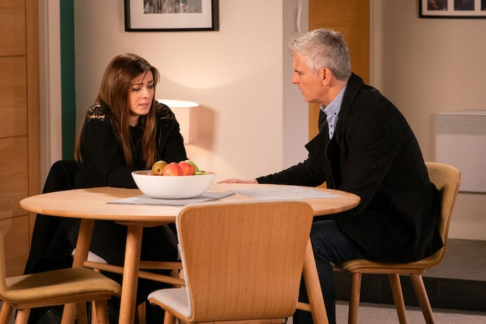 Coronation Street - Michelle and Robert