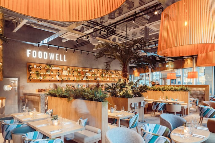 Foodwell interior