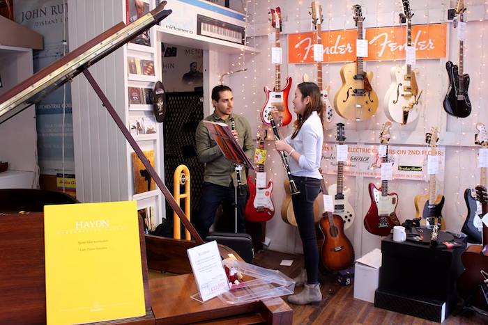 Manchester music store Forsyth to give away 200 free music lessons I Love Manchester