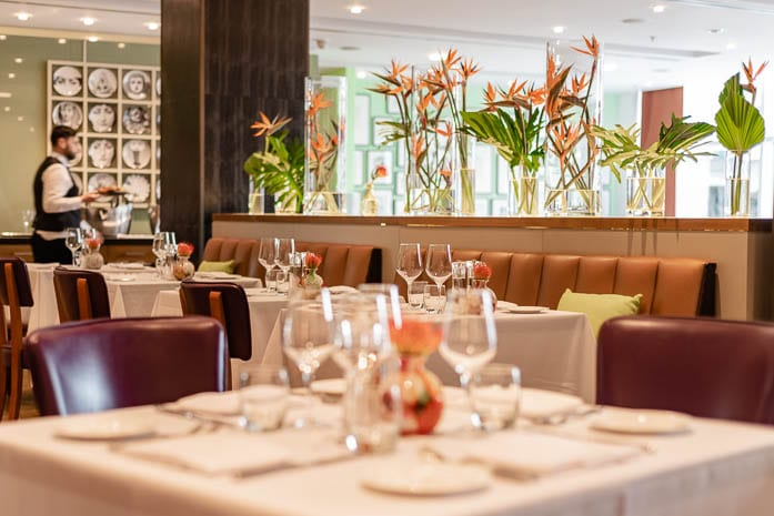 The River Restaurant at The Lowry Hotel has a new chef and a new menu - what's it like? I Love Manchester