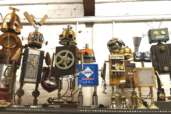 Meet the Manchester dad who makes amazing robots from old hoovers, TVs and scrap I Love Manchester