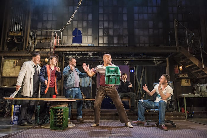 The Full Monty Manchester last time