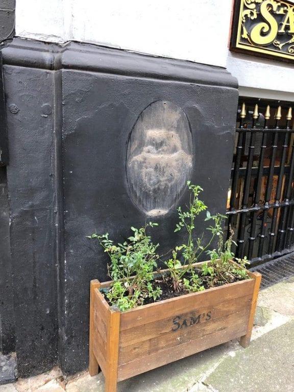 Huge reward offered after Sam's Chop House sign stolen I Love Manchester