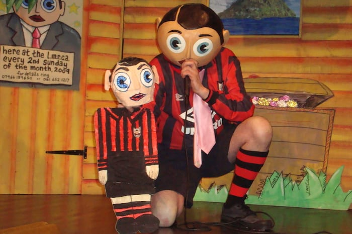 Frank Sidebottom exhibition opens today in Manchester Central Library - and a new film next week I Love Manchester
