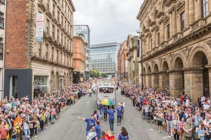 Manchester Pride Parade 2018