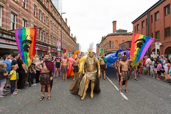 Manchester Pride parade
