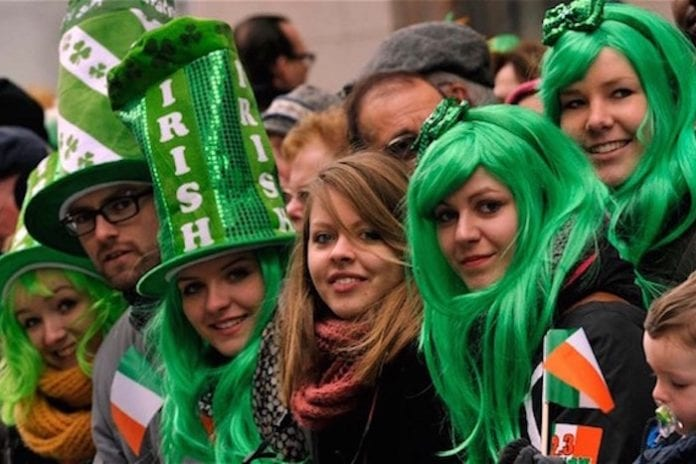 St Patrick's Day Manchester