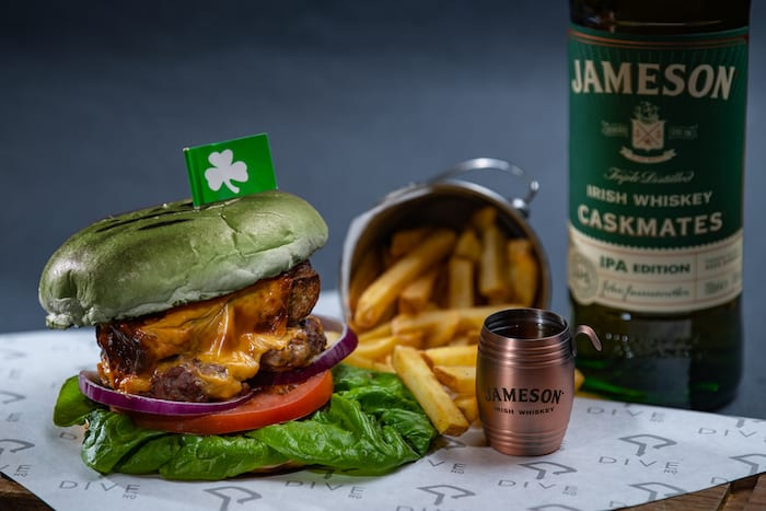This NQ basement bar's throwing a weekend-long Paddy's party with white pudding burgers and Jameson's boilermakers I Love Manchester