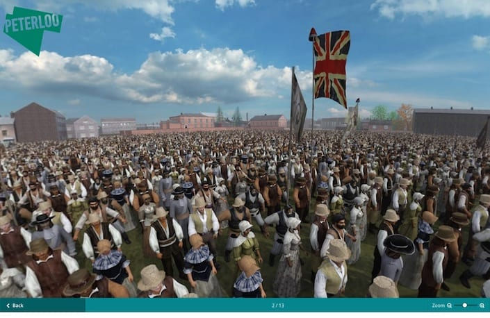Extraordinary new Peterloo website recreates Manchester in 1819 to mark 200 year anniversary of massacre I Love Manchester