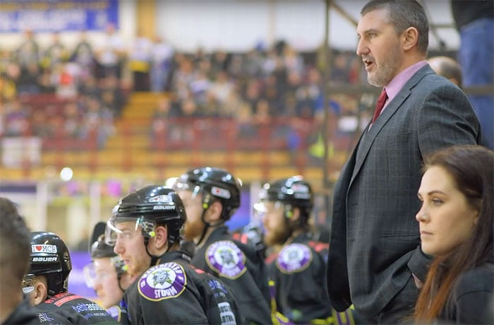 Manchester Storm and Salford University to celebrate partnership during Elite League fixture I Love Manchester