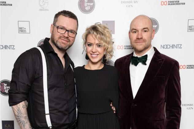 Corrie couple Sally Carman and Joe Duttine join Bugsy Malone revels at Mirror Ball charity extravaganza I Love Manchester