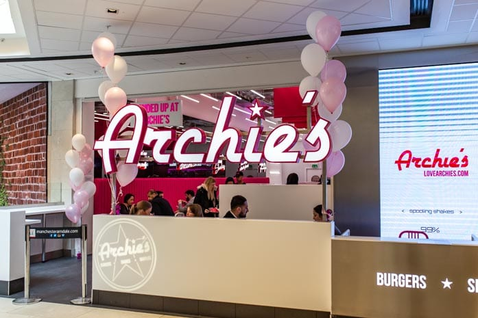 Manchester milkshake and burger bar Archie's has opened in the Arndale I Love Manchester