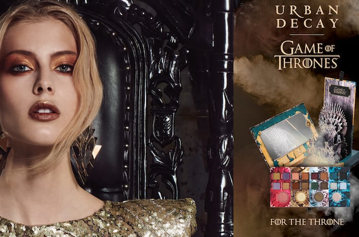 The Game of Thrones Urban Decay make-up