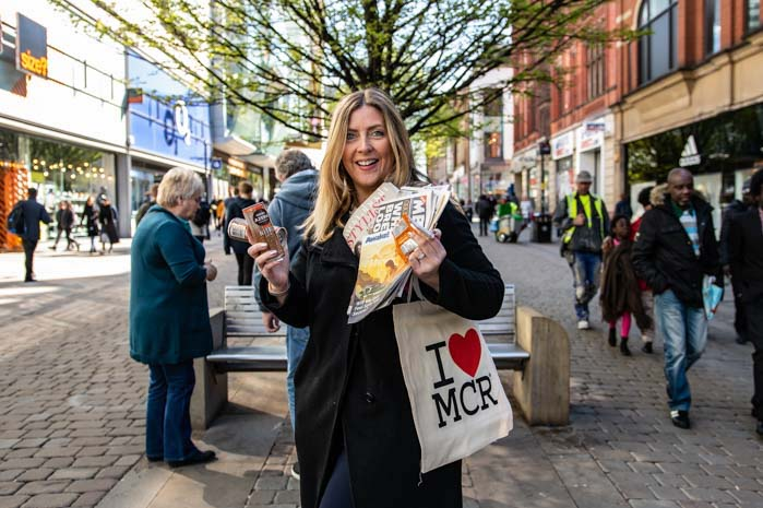 I walked down Market Street in Manchester and said yes to everything.  This is what happened I Love Manchester