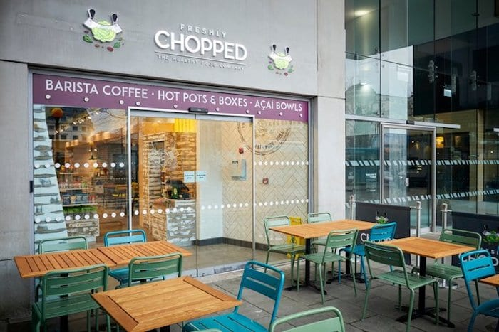 Freshly Chopped opens new Manchester store today - with free salads to raise money for homeless charity I Love Manchester