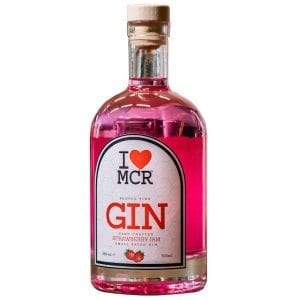 I Love MCR Pink Strawberry Jam Gin I Love Manchester