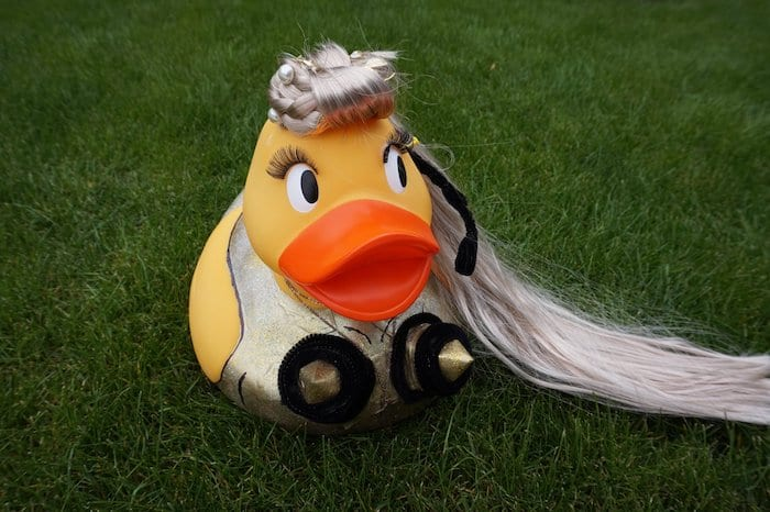 Sneak peek at the AMAZING giant ducks taking part in this year's charity Manchester Duck Race I Love Manchester