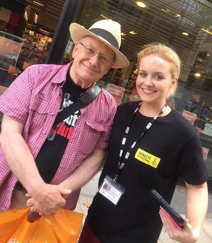 Amnesty International UK is looking for new representatives in Manchester I Love Manchester