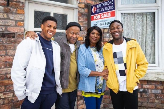 Bailey family Corrie