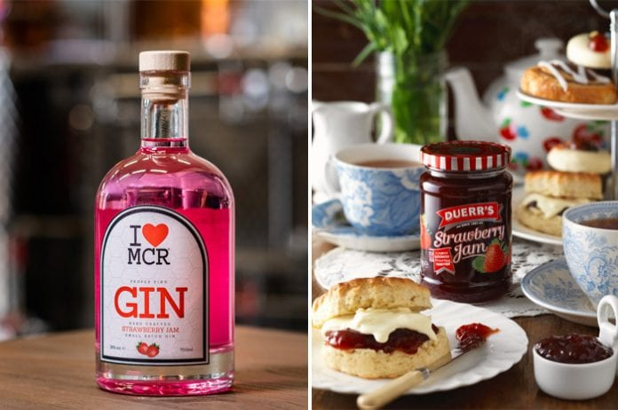 Strawberry Jam Gin has arrived in Manchester just in time for summer