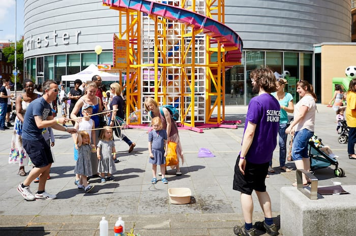 Manchester University opens its doors to the public with Community Festival I Love Manchester