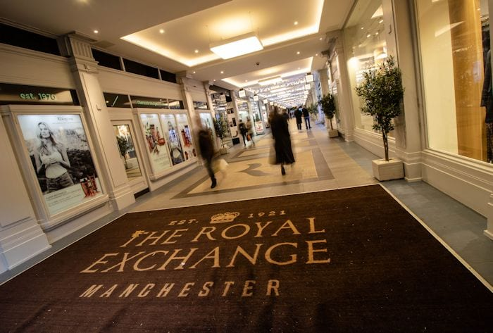 The Royal Exchange Manchester: your one-stop graduation shop I Love Manchester