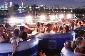 Just add water: a hot tub cinema is coming to Manchester I Love Manchester