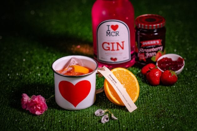 I Love MCR® Pink Strawberry Jam Gin I Love Manchester