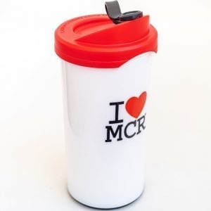 I Love MCR Reusable Cup I Love Manchester