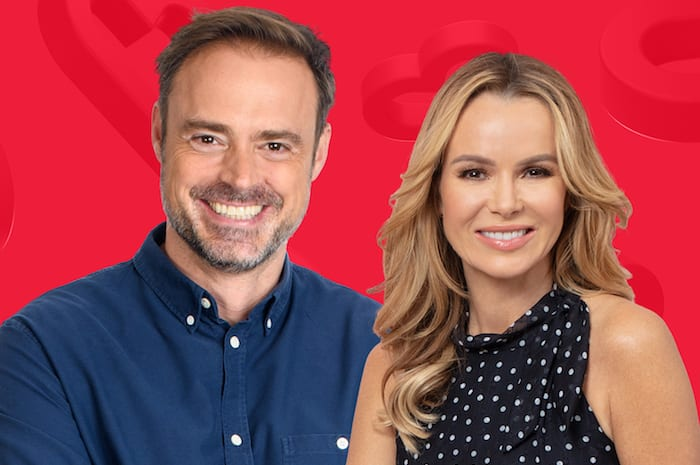 """Bring back Joel and Lorna!"" Heart North West listeners react as new show launches with Amanda Holden and Jamie Theakston I Love Manchester"