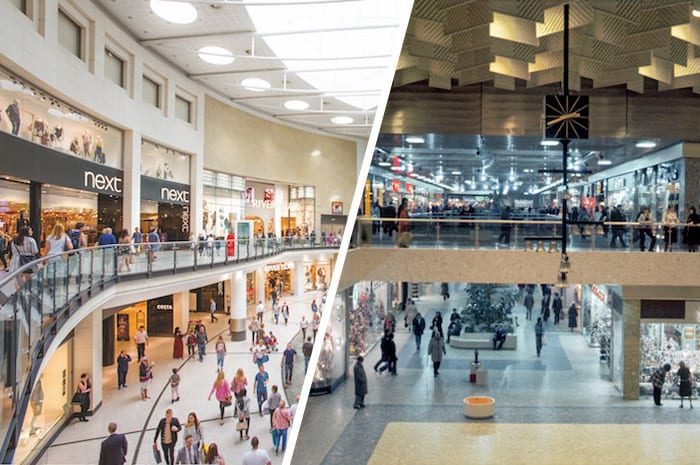 Manchester Arndale now and then