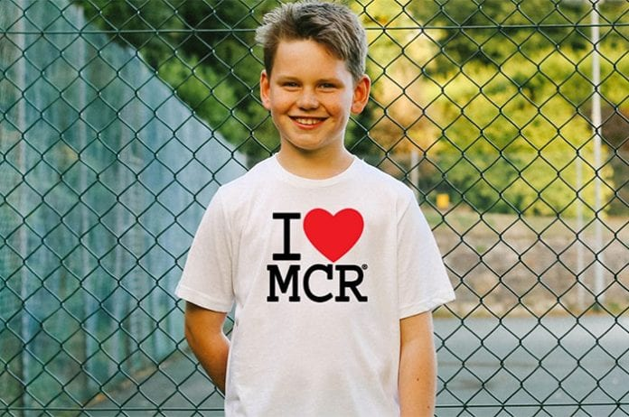 b491a4a10106 Attention Manchester kids: help redesign the iconic I Love MCR® t ...