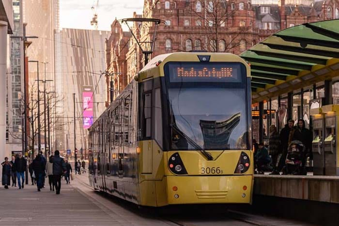 Manchester Metrolink has been named one of the best transport systems in the world I Love Manchester
