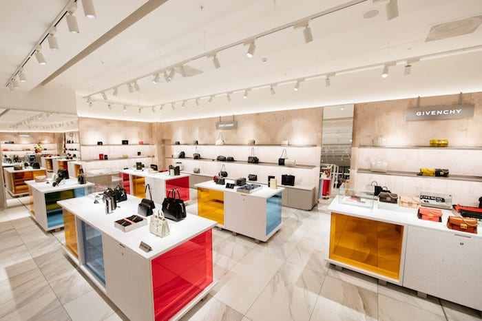 Handbag heaven!  Selfridges unveil vast new accessories hall at intu Trafford Centre I Love Manchester