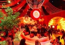 Aperol Big Birthday Social pop up bar