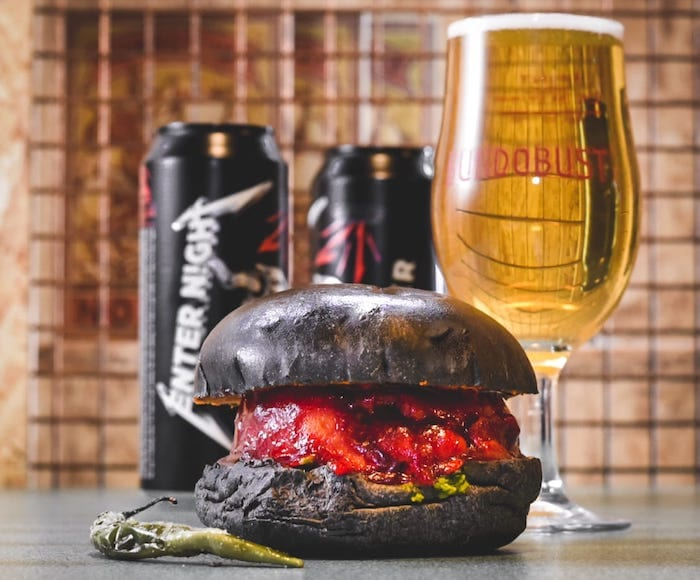 This Bundobust Metallica-inspired vada pav burger looks amazing I Love Manchester