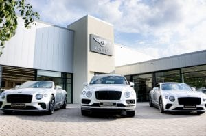 Bentley Manchester is celebrating 25 years with three bespoke one-of-a-kind models I Love Manchester