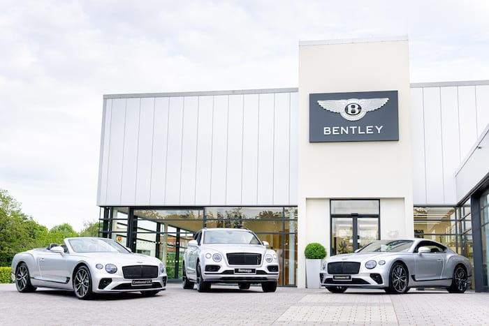 Bentley Manchester limited edition 25 years cars